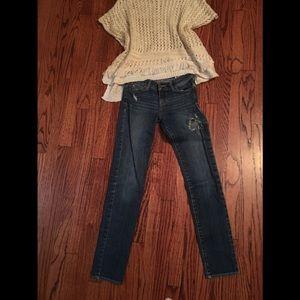 Abercrombie skinny jeans 12 slim